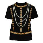 Gearhomies Unisex T-Shirt Elisabeth of Valois Queen of Spain 3D Apparel