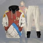 Gearhomies Tracksuit Hoodies Pullover Sweatshirt Louis Bonaparte Historical 3D Apparel