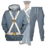 Gearhomies Tracksuit Hoodies Pullover Sweatshirt Mexican War US Army Historical 3D Apparel