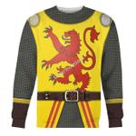 Gearhomies Unisex Sweatshirt Robert The Bruce 3D Apparel