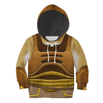 Gearhomies Unisex Kid Hoodie Gungans Star Wars 3D Apparel