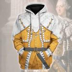 Gearhomies Unisex Hoodie George III Of Great Britain Historical 3D Apparel