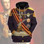 Gearhomies Unisex Hoodie William II of the Netherlands Historical 3D Apparel