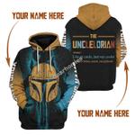 Gearhomies Personalized Hoodie Unclelorian 3D Apparel