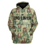 Gearhomies Unisex Hoodies  Dadalorian Camouflage 3D Apparel