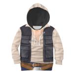 Gearhomies Unisex Kid Hoodie Star Wars Zorii Bliss 3D Apparel