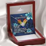 Gearhomies Jewelry To My Gorgeous Girlfriend LGBTQ+  Love Knot Necklace