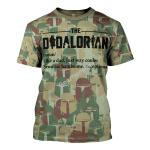 Gearhomies T-Shirt The Dadalorian Camouflage 3D Apparel