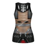 Gearhomies Tank Tops Darth Raven 3D Apparel