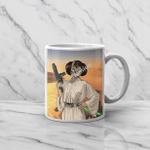 Gearhomies Mug Custom Pet Photo Princess Leia