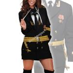Gearhomies Dress Hoodie Soviet Naval Captain Historical 3D Apparel