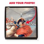 Gearhomies Jewelry Custom Photo Napol??on Bonaparte With POD Message Card