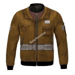 Gearhomies Bomber Jacket Rose Tico 3D Apparel