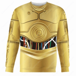 Gearhomies Unisex Sweatshirt C-3PO 3D Apparel