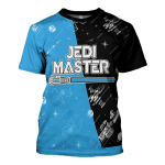 Gearhomies Unisex T-Shirt DAD Master And Training Matching 3D Apparel