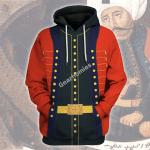Gearhomies Unisex Hoodie Sultan Selim I Historical 3D Apparel