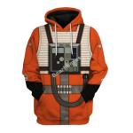 Gearhomies Unisex Hoodie  Rebel Pilot 3D Apparel