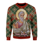 Gearhomies Sweatshirt Andrew the Apostle 3D Apparel