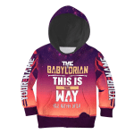 Gearhomies Personalized Unisex Kid Tops Pullover Sweatshirt The Babylorian 3D Apparel