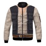Gearhomies Bomber Jacket Han Solo Star Wars 3D Apparel