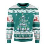 Gearhomies Christmas Unisex Sweater Sanitizer 3D Apparel
