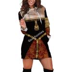 Gearhomies Dress Hoodie Anne Boleyn Historical 3D Apparel