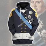 Gearhomies Unisex Hoodie Louis XVIII Of France Historical 3D Apparel