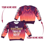 Gearhomies Kid Sweatshirt Personalized Name The Babylorian This Is the Way 3D Apparel