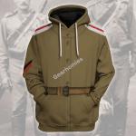 Gearhomies Unisex Hoodie WW1 Russian Soldiers Historical 3D Apparel