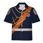 Gearhomies Unisex Hawaiian Shirt Wilhelm II German Emperor Historical 3D Apparel