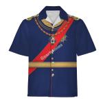Gearhomies Unisex Hawaiian Shirt King Ludwig II of Bayern Historical 3D Apparel