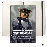 Gearhomies Personalized Pet Woofdalorian Soft Cover Journals