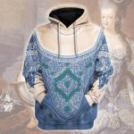 Gearhomies Unisex Hoodie Marie Antoinette - Queen of France Historical 3D Apparel