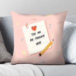 Gearhomies Pillow Cover You Are My Favourite Wife