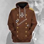 Gearhomies Unisex Hoodie Erich von Falkenhayn Historical 3D Apparel