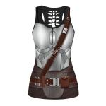 Gearhomies Tank Tops Beskar Mandalorian 3D Apparel