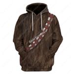 Gearhomies Unisex Hoodie  Wookiee 3D Apparel