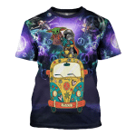 Gearhomies Unisex T-Shirt Here For The King Never Forget Who You Are 3D Apparel
