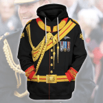 Gearhomies Unisex Hoodie Prince Harry Historical 3D Apparel