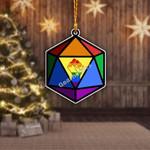 Gearhomies Ornament LGBTQ+  Rainbow Flag