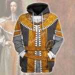 Gearhomies Unisex Hoodie William III of England Historical 3D Apparel