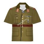 Gearhomies Tracksuit Hoodie Pullover Sweatshirt Erwin Rommel German General in WW2 Cosplay 3D Apparel