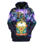 Gearhomies Unisex Hoodies  Hoodie Star Wars Here For The King Never Forget Who You Are 3D Apparel