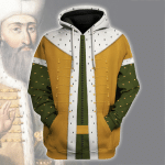Gearhomies Unisex Hoodie Suleiman the Magnificent Ottoman Empire Historical 3D Apparel