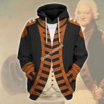 Gearhomies Unisex Hoodie Sir Peter Parker 1st Baronet Historical 3D Apparel