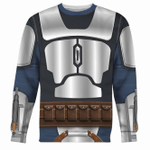 Gearhomies Unisex Sweatshirt Mandalorian 3D Apparel