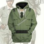 Gearhomies Unisex Hoodie Italian Military WWI Historical 3D Apparel