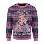 Gearhomies Sweatshirt Well Shit Ugly Christmas 3D Apparel