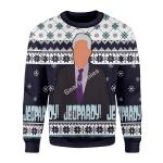 Gearhomies Christmas Unisex Sweater Jeopady! Ugly Christmas 3D Apparel