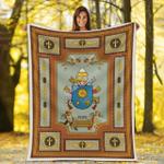 Gearhomies Blanket Pope Francis Coat Of Arms